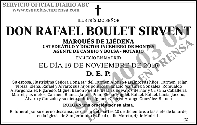 Rafael Boulet Sirvent
